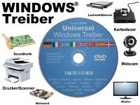 Neu: Universal Windows 7 Vista Xp 8 Treiber Cd Für Notebook Pc Tablet Laptop Dvd