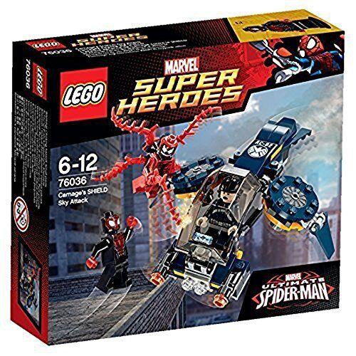 LEGO ® 76036 SUPER HEROES Marvel Carnages Attacke auf SHIELD SHIELD SHIELD Neu OVP New 184f1c