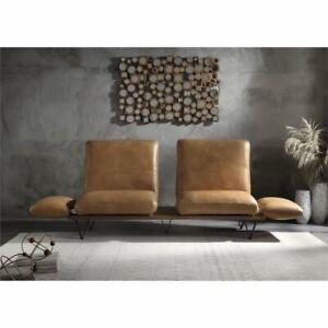 Sensational Details About Acme Narech Sofa With Swivel In Nutmeg Top Grain Leather Spiritservingveterans Wood Chair Design Ideas Spiritservingveteransorg