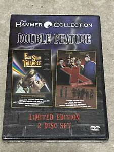 Four-Sided-Triangle-amp-X-The-Unknown-DVD-Hammer-Collection-OOP-New-amp-Sealed