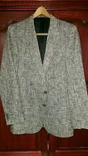 """Vintage Funk Von Furstenberg """"Prince Egon"""" Collection tweed jacket Men's  42L"""