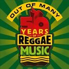 Out of Many: 50 Years of Reggae Music [Digipak] by Various Artists (CD, Jul-2012, 3 Discs, VP Records)