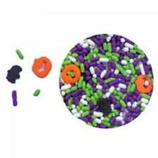 Edible Confetti Sprinkles Cookie Cake Cupcake Halloween FRIGHT NIGHT 8 oz.