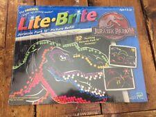 Lite Brite Jurassic Park III Picture Refill New in Original Wrapping
