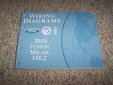 2010 Ford Fusion Electrical Wiring Diagram Manual S SE SEL Sport 2.5L 3.0L 3.5L