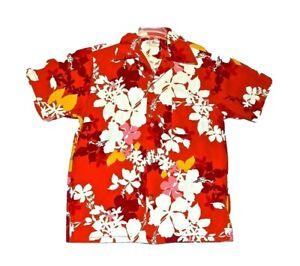 70s Aloha Shirt by Hukilau Fashions Men/'s Medium