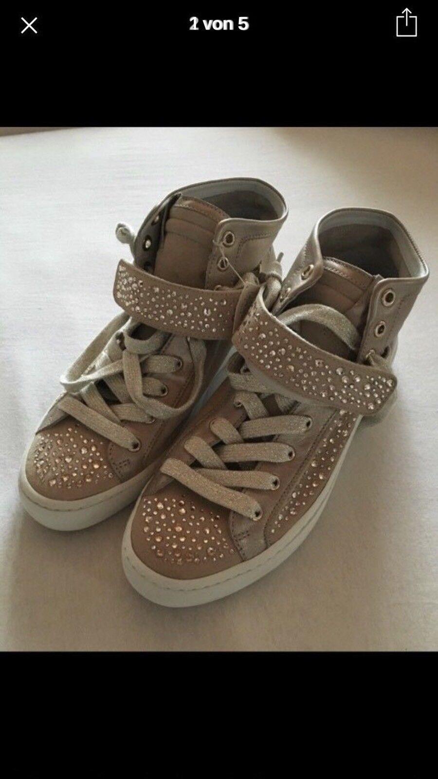 Hoegl Sneaker 37 Turnschuhe Strass Beige  37 Sneaker sneakers 09b39f
