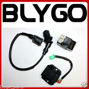 Ignition-Coil-CDI-UNIT-Regulator-GY6-125cc-150cc-PIT-Quad-Dirt-Bike-ATV-Buggy