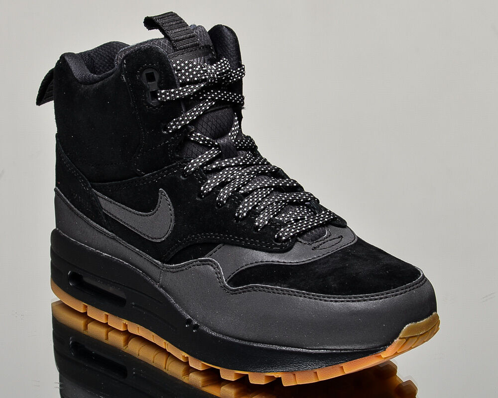 Nike WMNS Air Max 1 Mid Sneakerboot women lifestyle winter sneakers NEW black
