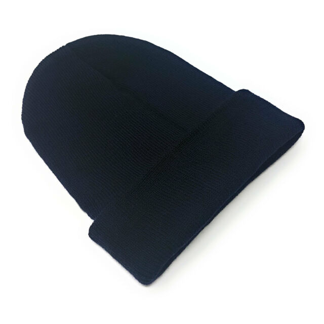 77715a492d773 BULK Beanie Hat Wholesale Slouch Mens Ladies Warm Winter Turn up ...