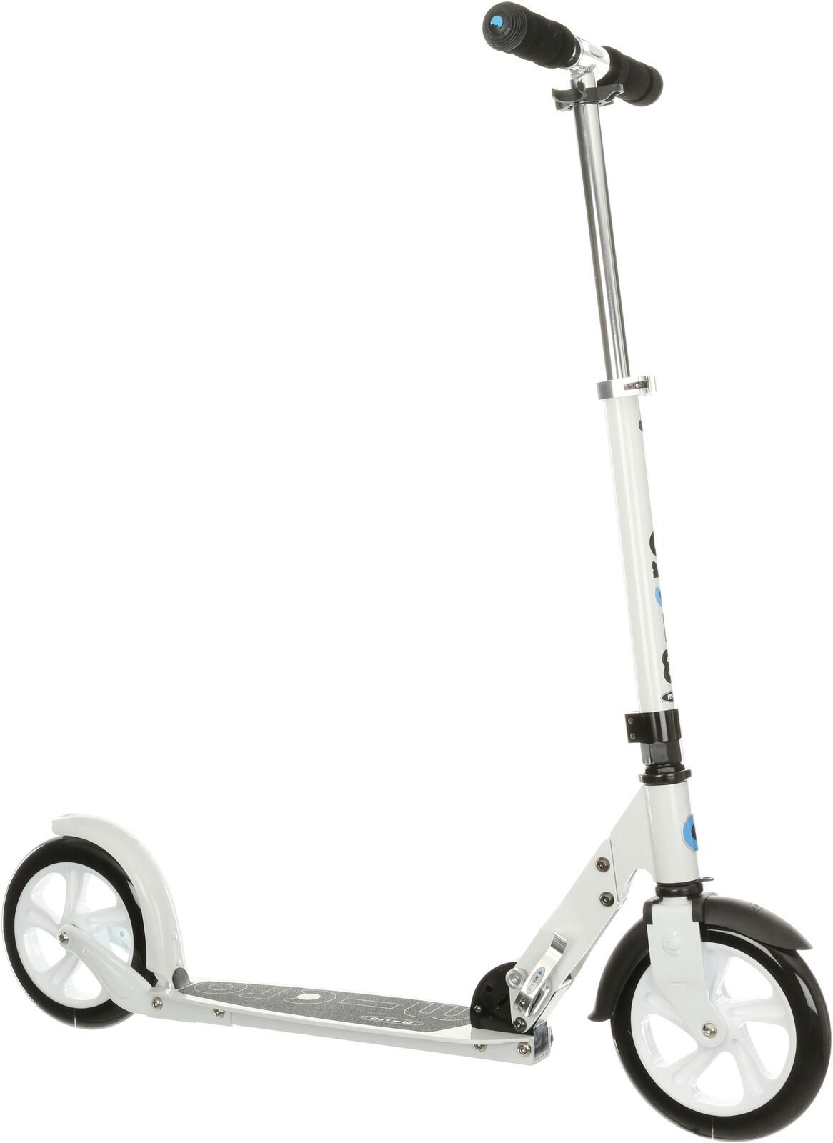 Micro Classic Adult Scooter Alluminium Frame 2 x 200mm PU Wheels - White