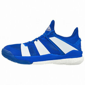 beaucoup à la mode style unique boutique pour officiel Details about New Adidas Stabil X Men Badminton Running Indoor Shoes  Sneakers - Blue(BB1804)