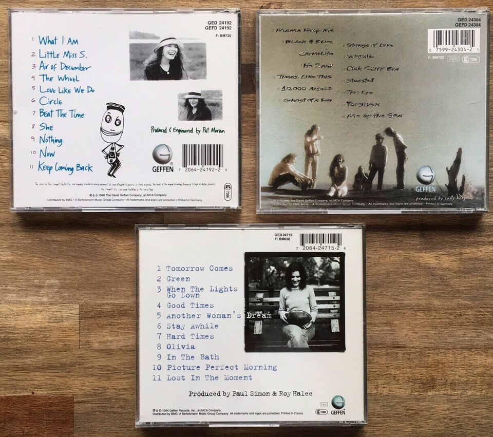 Edie Brickell: 3 CD albums, pop