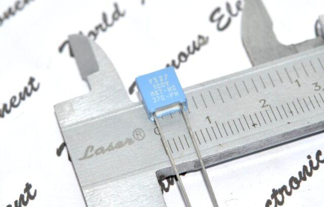 Philips 100nF 10/% 100V Polyester Film Capacitor Folien-Kondensator MKT-HQ-372-PH