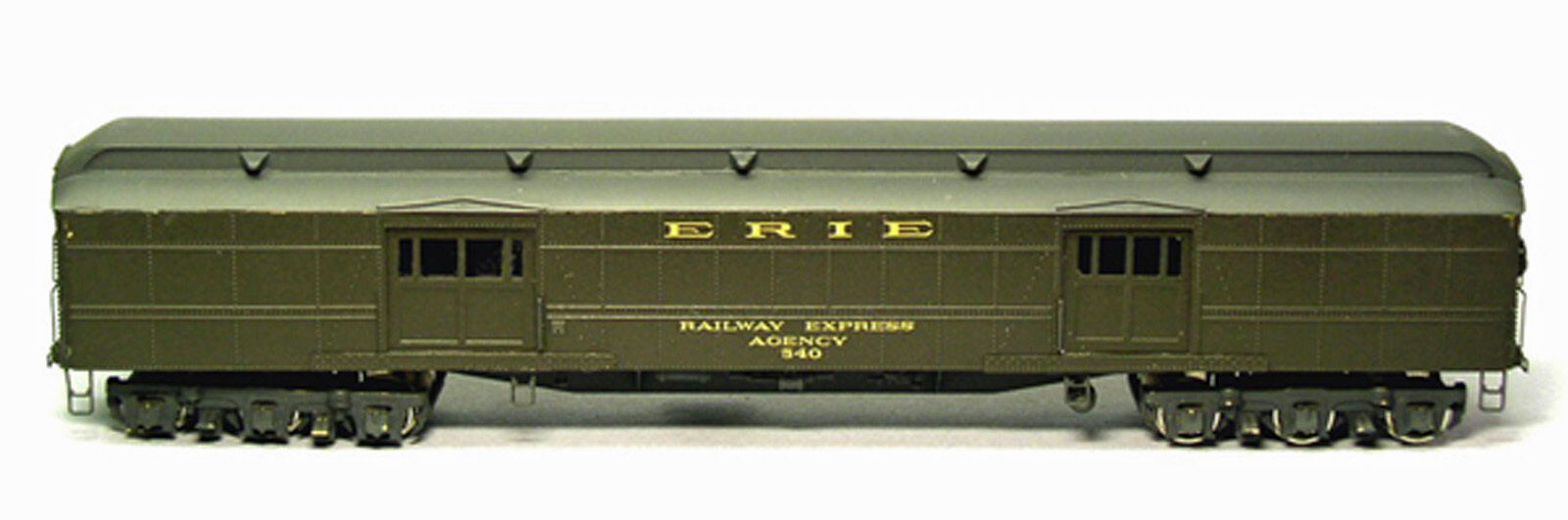 ERIE BAGGAGE EXPRESS CAR 540-549 HO Model Railroad Passenger Unpainted Kit BC830