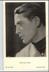 HERMANN-BRIX-Schauspieler-ca-1950-60-Portraet-AK-Postkarte-Film-Buehne-Theater