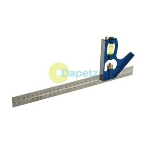 300mm-12-034-Adjustable-Engineers-Combination-Try-Square-Set-Right-Angle-Ruler-UK