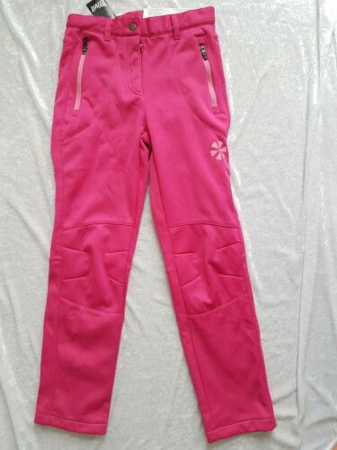 Ragazze Softshell Pantaloni alto calore sostegno popolare resistente all/'acqua Outdoor