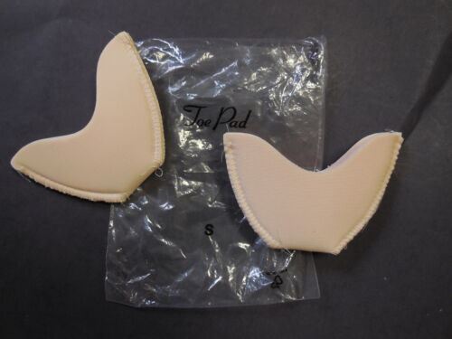 New Foam Pointe Toe Pads Cushiony Thick Beginner Pink or White