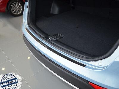 Steel Outer Rear Bumper Sill Protector Cover Trims For Hyundai Santa-Fe 2010-12