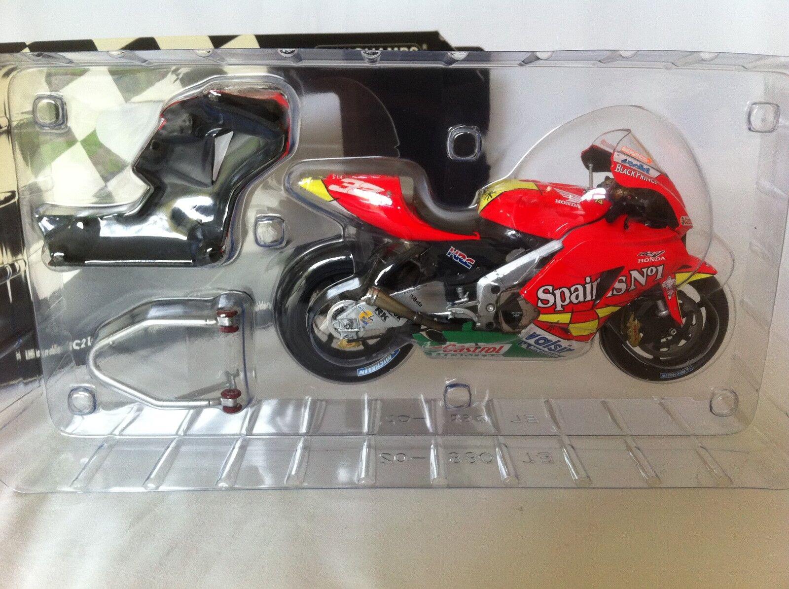 Minichamps 1.12 Scale M.Melandri Honda RC211V.Team Spain& 039;s No1 Honda MOTOGP 06.