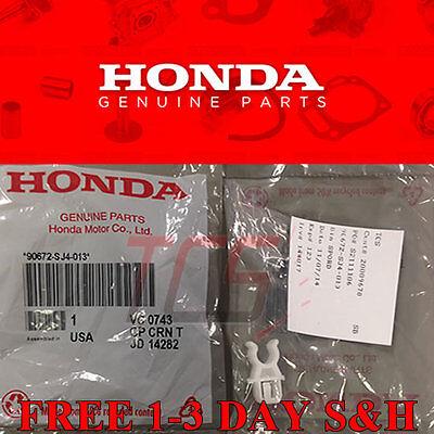 OEM 92-00 Honda Civic SI DX CX EX LX B16A2 D16Y8 D16Z6 Hood Prop Rod Holder Clip