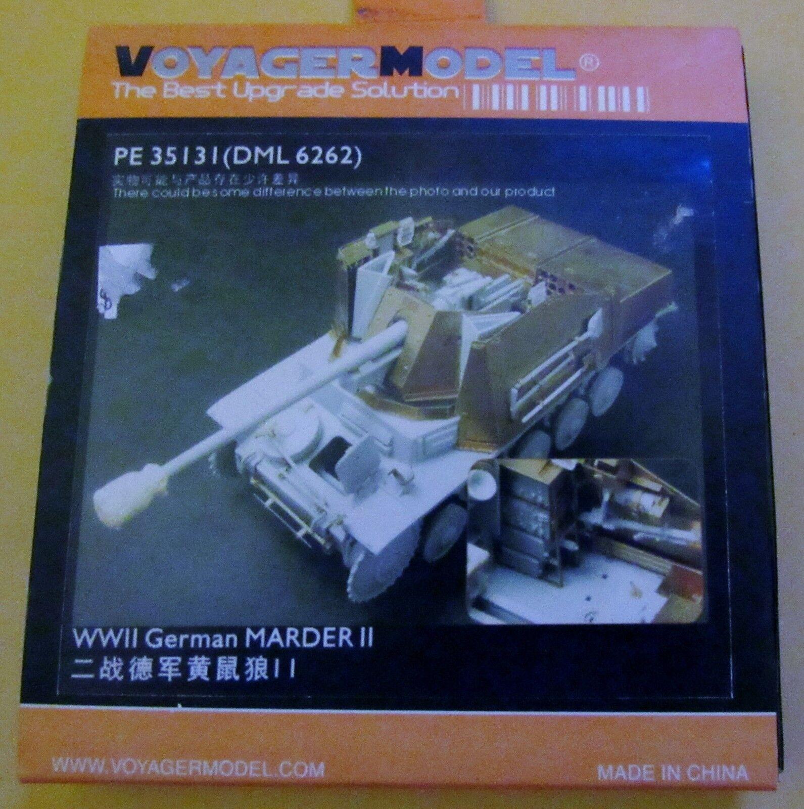 VOYAGER MODEL MODEL MODEL 1 35  PE35131 WWII GERMAN MARDER 11 UPGRADE 721551