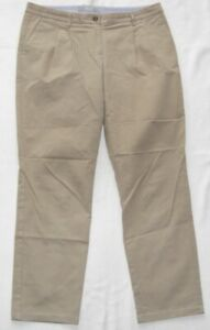 Brax Women's Chino Jeans Women's Size 42 W32 L30 Mia Pleat Condition Very Good