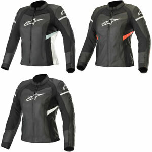 Alpinestars Renee Womens Stella Textile//Leather Jacket Black