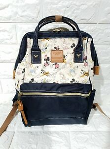 Anello-x-Disney-Mickey-Mouse-Canvas-Everyday-Backpack-Navy-Blue