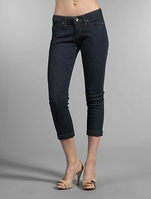 NWT Miss Sixty Crystal Cropped Second Skin Jeans size 26