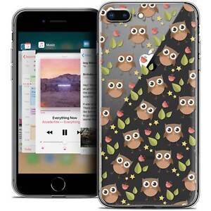 Coque-Crystal-Gel-Pour-iPhone-8-Plus-5-5-034-Extra-Fine-Souple-Summer-Hibou