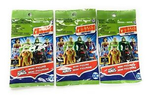 Justice League Action Series 2 Mighty Mini Figures Lot of 3 Blind Bags