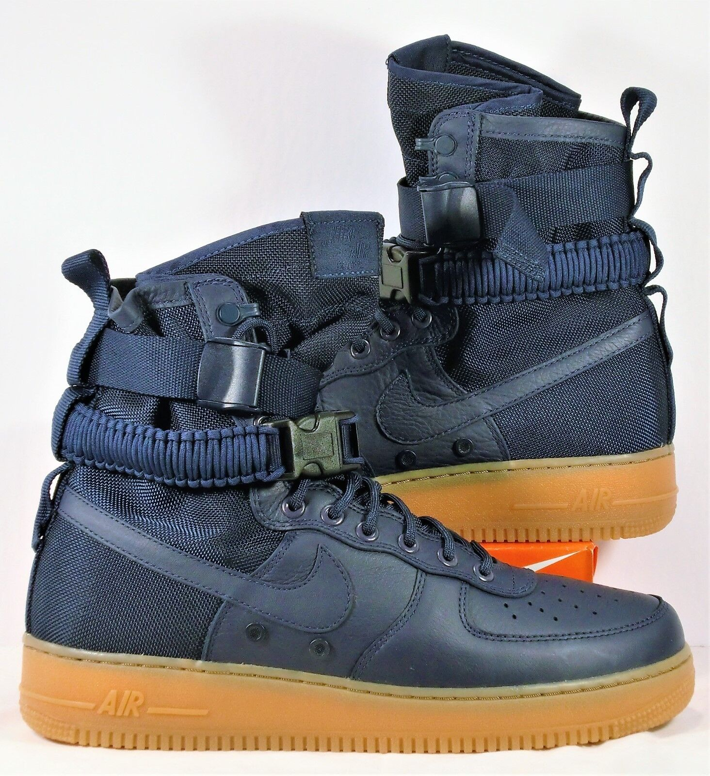 Nike SF Air Force Midnight 1 Leather Midnight Force Navy Blue Men Shoes Sz 11 NEW 864024 400 c581cb
