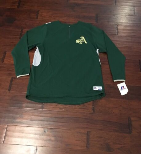 Russell Athletics Men's Dri-Power Green A-Eagles 1//4 Zip Pullover Top Sz L NEW*