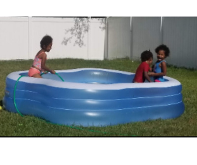 Inflatable Swimming Pool For Kids Kiddie Adult Heavy Duty Play Lounge Backyard Ebay
