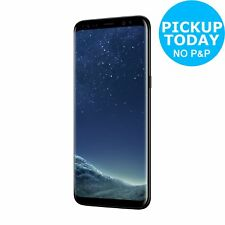 SIM Free Samsung Galaxy S8 5.8 Inch 64GB 12MP 4G Mobile Phone - Black.