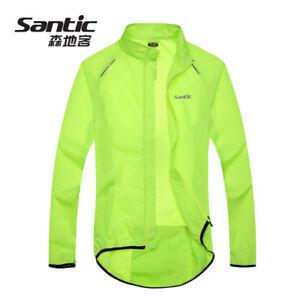 Mens-Cycling-Jacket-Wind-Coat-Bicycle-Bike-Raincoat-Windproof-Waterproof-Jersey