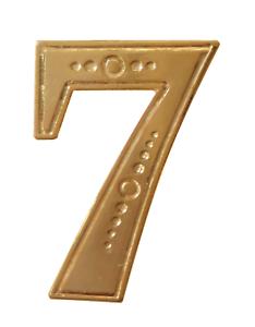 Number 7 Gilded Orange Order Collarette Character