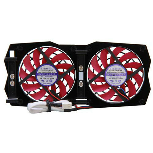 Evercool RVF-1F Adjustable 80mm VGA Video Card Replacement Fan     USA SELLER