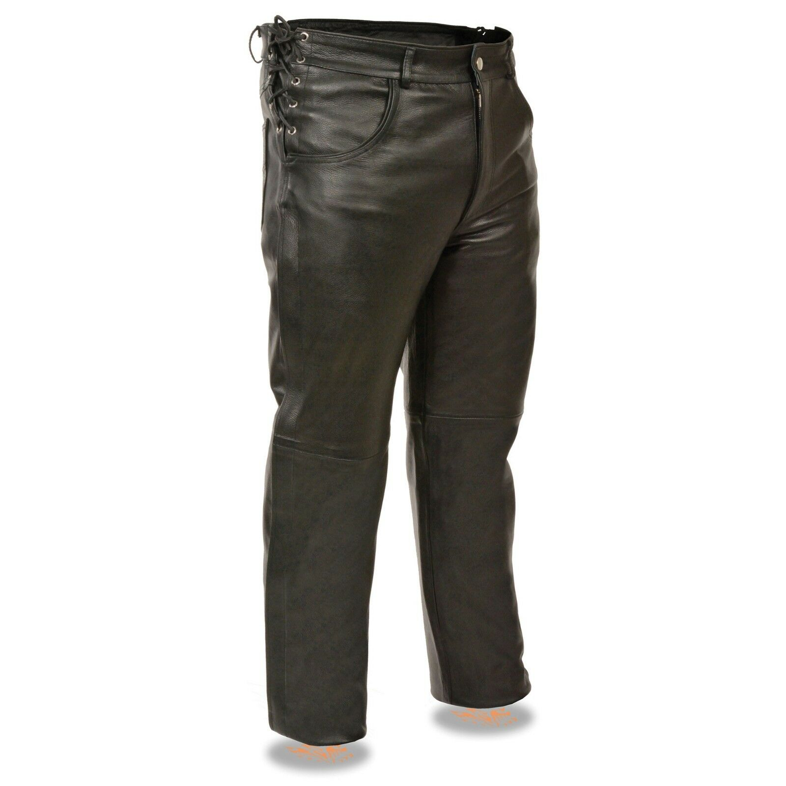 Milwaukee Leather uomini's Deep Pocket Over Pants W Side Laces For Adjustuominit1987