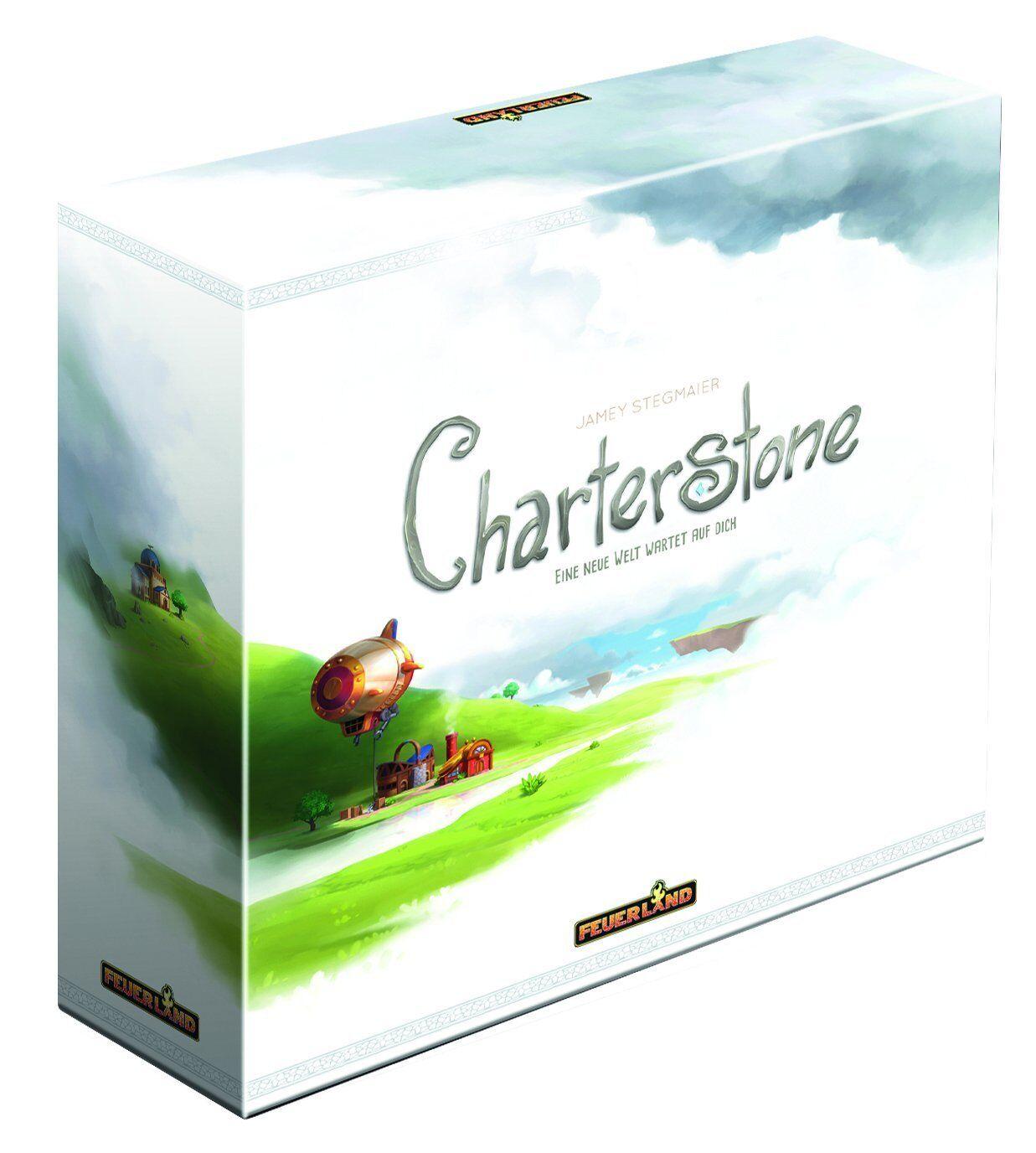 Charterstone juego de mesa germano-OVP fuego país juegos