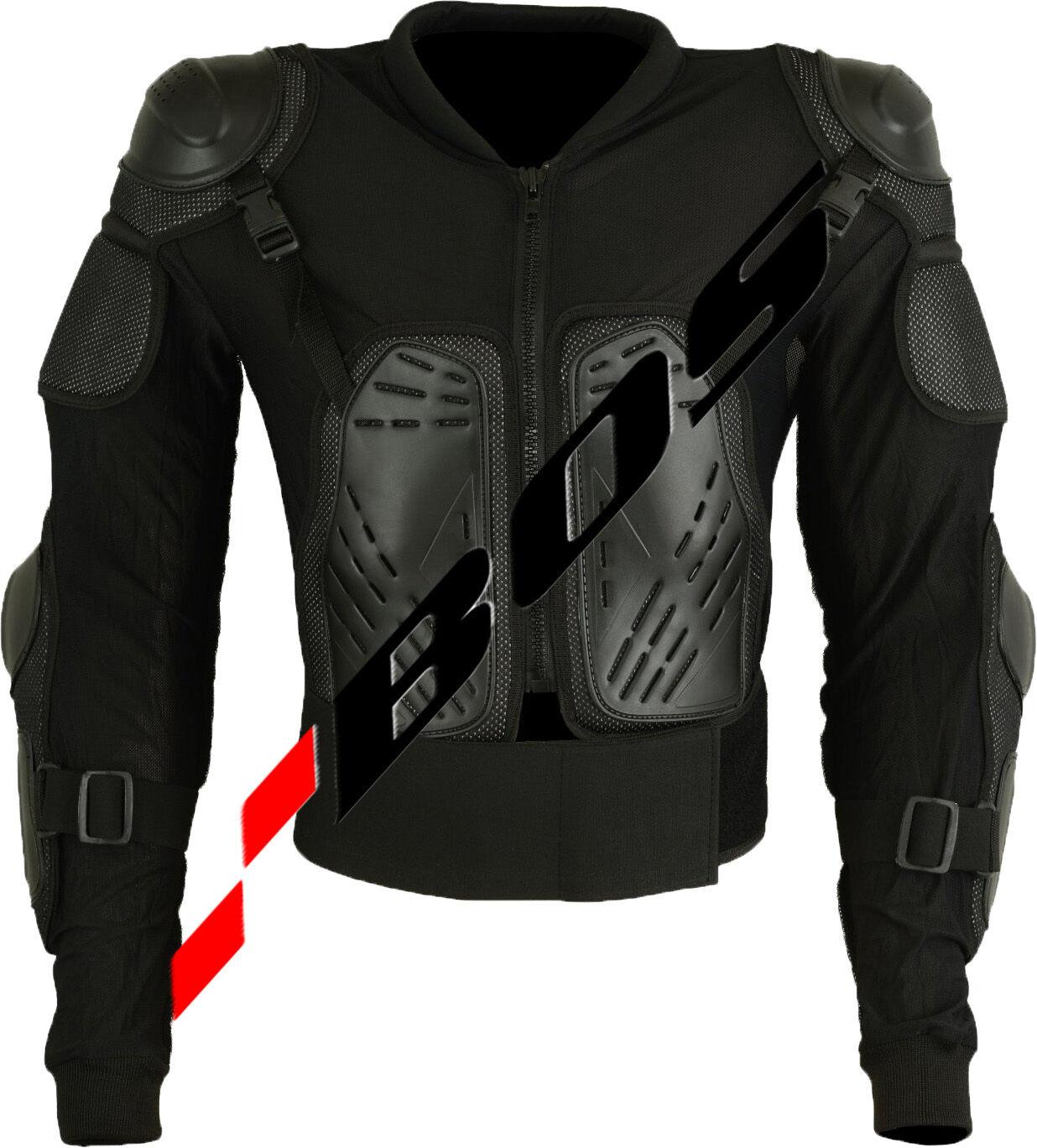 Giacca moto Giacca protezioni Giacca moto Armour BMX Safety PROTEZIONI Camicia gr-m-5xl e9e36f