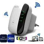 300Mbps Wireless-N AP Range 802.11 Wifi Repeater Signal Extender Booster New