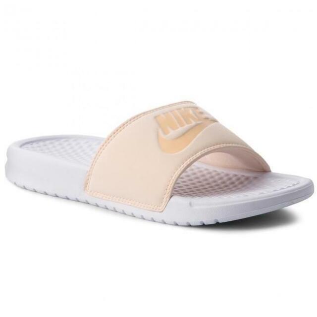Nike Femme Benassi Jdi Pastel QS diapositives AA4150 800 UK 8.5 EU 43