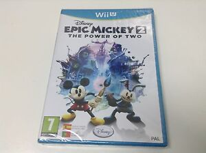 EPIC-MICKEY-2-THE-POWER-OF-TWO-Pal-Espana-Envio-Certificado-Paypal
