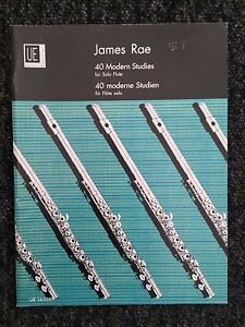 james rae modern studies for solo flute grades diploma  image is loading james rae 40 modern studies for solo flute