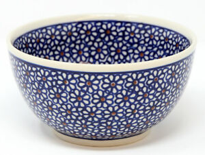 Polish Pottery Ice Cream / Cereal Bowl  from Zaklady Boleslawiec 9711/120