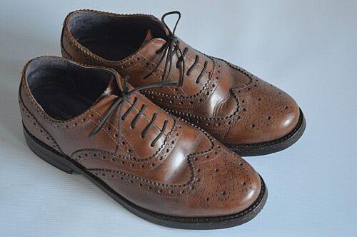 britanniques Windsor prestige Richelieus 5 7 7 Samuel cuir Sabot marron en Eu Oxford 41 Us Z5n04Bawq