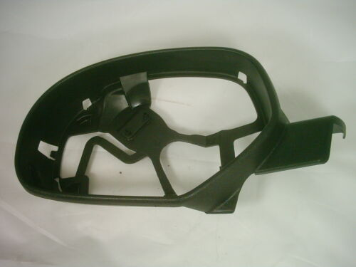 2007-13 GM FACTORY LEFT MIRROR GLASS FRAME SILVERADO GMC OEM BLACK TEXTURE
